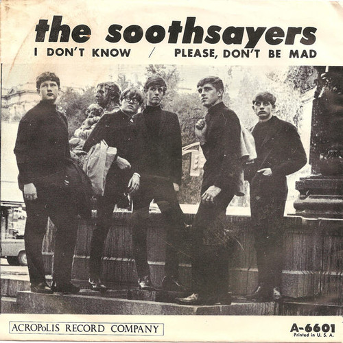 Soothsayers I Don't Know Please Don't Be Mad 45 PS