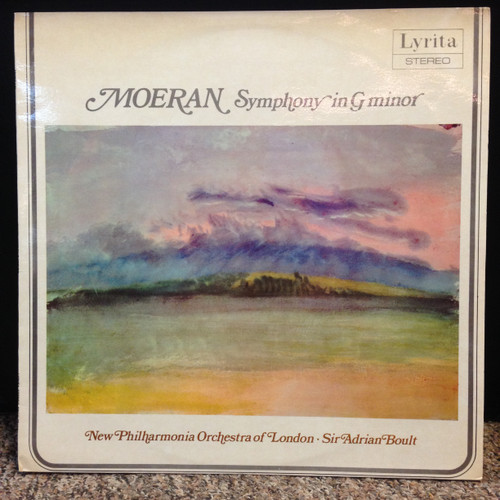 Moran Symphony in G Minor London New PO Boult LP
