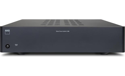 NAD C 268 Stereo Power Amplifier - Front