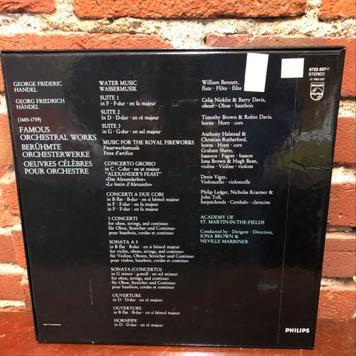 Handel Famous Orchestral Music LP