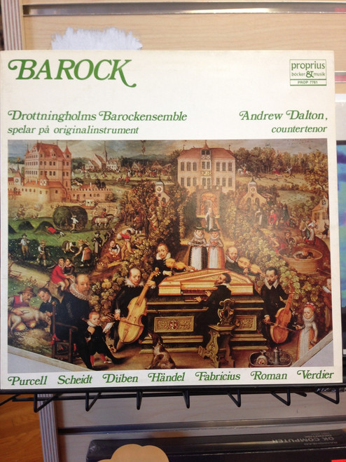 Barock ( Baroque Music) for contertenor and small ensemble LP