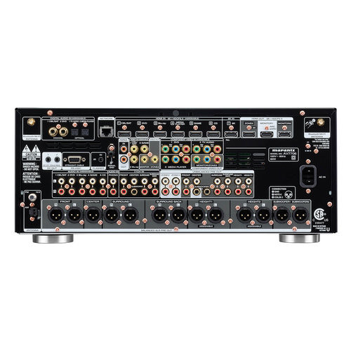Marantz AV7706 11.2Ch 8K Ultra HD AV Surround Pre-Amplifier with HEOS® Built-in and Voice Control