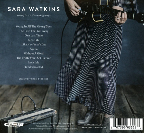 Sara Watkins Young In All The Wrong Ways CD