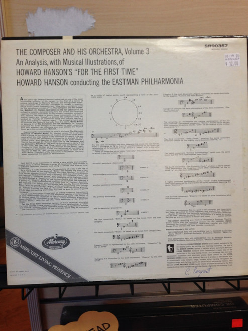 Howard Hanson The Composer and his Orchestra Vol. III