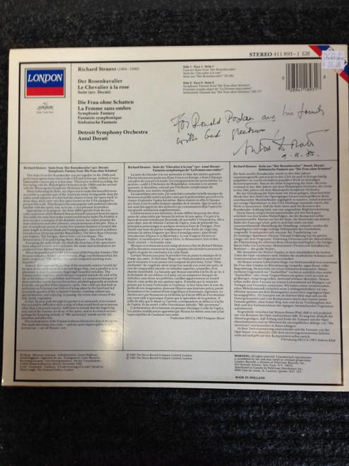 Richard Strauss Orchestral Music LP