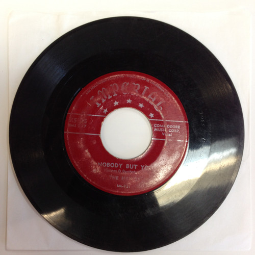 "Hawks Give It Up b/w Nobody But You 7"" Imperial Doo Wop"