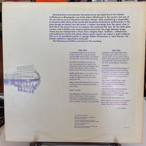 Leo Kottke 12 String Blues Live At The Scholar LP