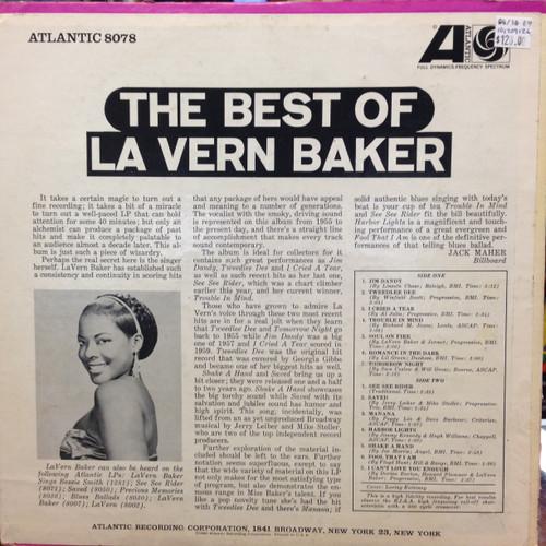 LaVern Baker Best Of White Label Promo LP