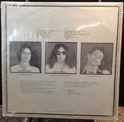 Prisoner Self Titled Private Press KC LP In Shrink