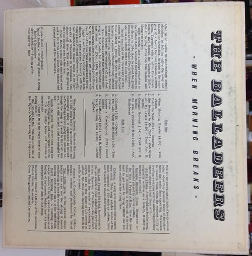 The Balladers When Morning Breaks *