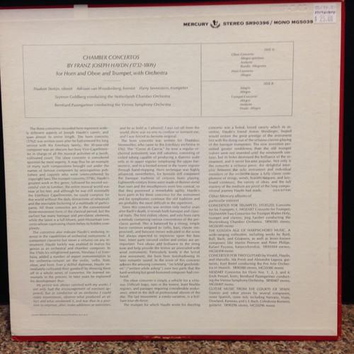 Haydn, Chamber Concertos, LP