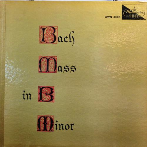 Bach Mass in B Minor 3 LP set LP