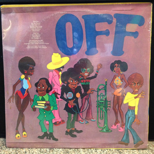 Miles Davis On The Corner Sealed LP