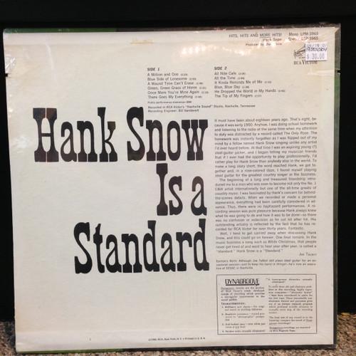 Hank Snow Hits, Hits & More Hits Sealed Stereo LP