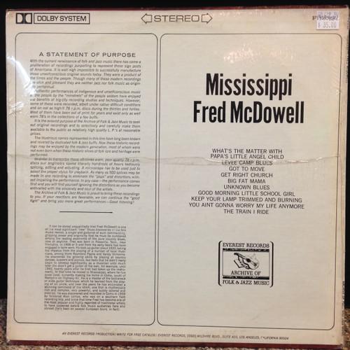 Mississippi Fred McDowell Everest Sealed LP