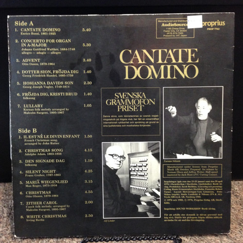 Cantante Domino LP
