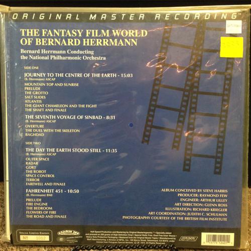 Fantasy Film World of Bernard Hermann MFSL 1/2 Speed Sealed LP