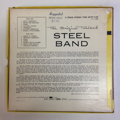 The Original Trinidad Steel Band [4-track, 7½ IPS Reel]