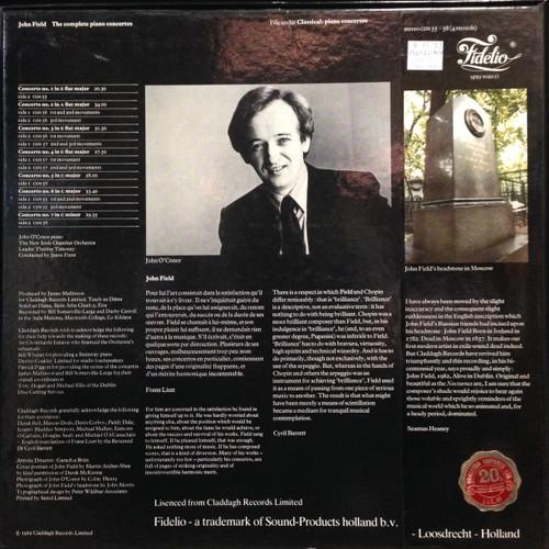 John Field, The Complete Piano Concertos, box set 4 LP