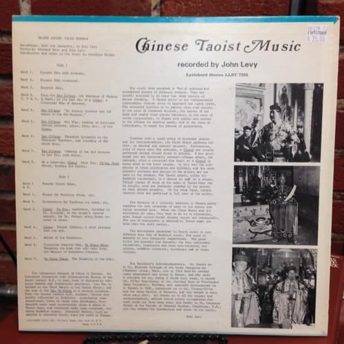 John Levy Chinese Taoist Music