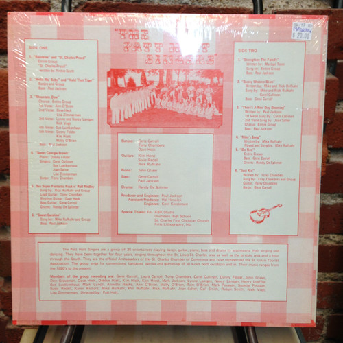 Patt Holt Singers We Feel Like Singin St. Louis Private Press LP