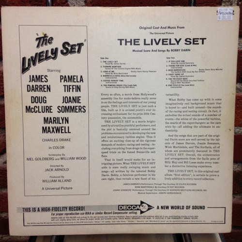 Lively Set Soundtrack Promo LP