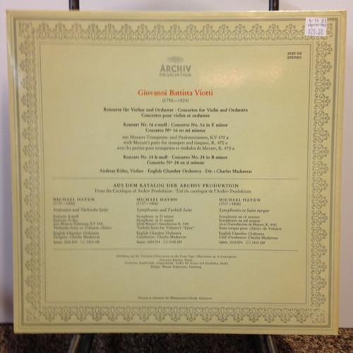 Viotti, Concertos 16, 24 LP