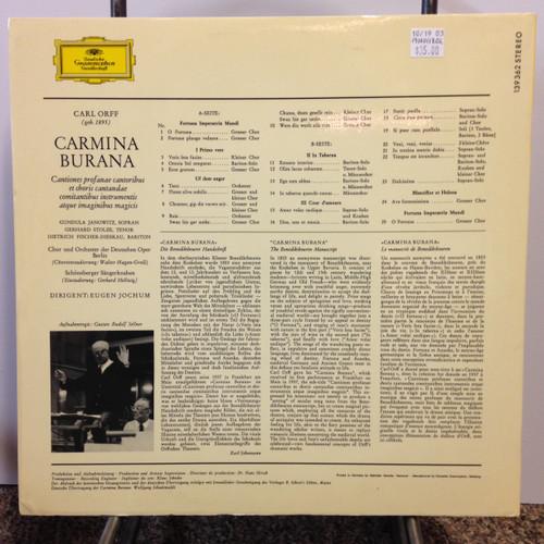 Carl Orff-Carmina Burana LP