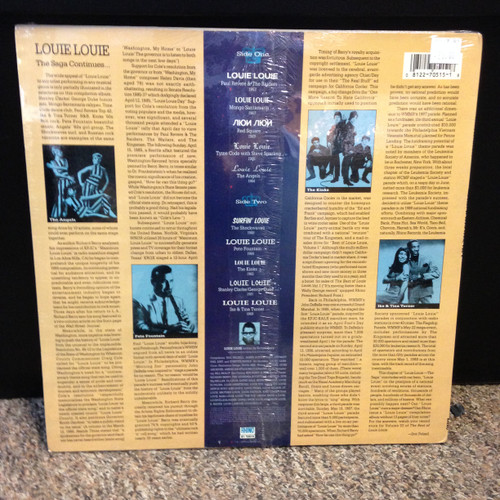 Best Of Louie Louie Volume 2 Sealed LP