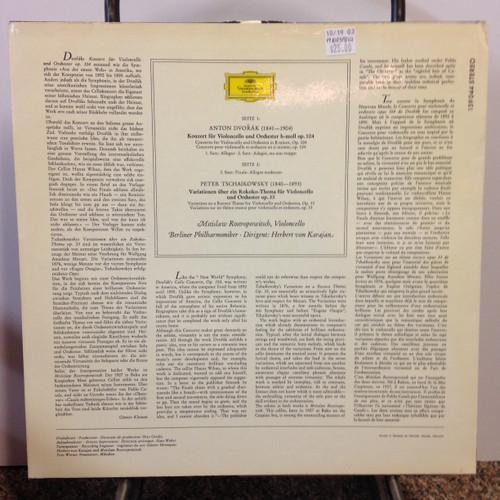 Dvorak, Tschaikowsky, Cello Op 33 & 104 LP