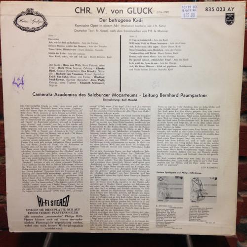 Gluck-Der betrogene Kadi LP
