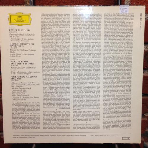 Mozart-Eichner-Wagenseil-Dittersdorf, Harp Concertos LP