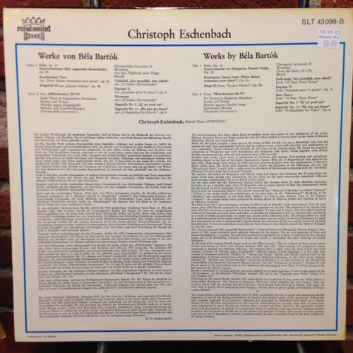 Bela Bartok-Eschenbach LP