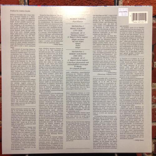 Schubert/Schumann Fantasien Perahia LP