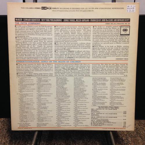 Mahler Symphony No. 5 2 LP
