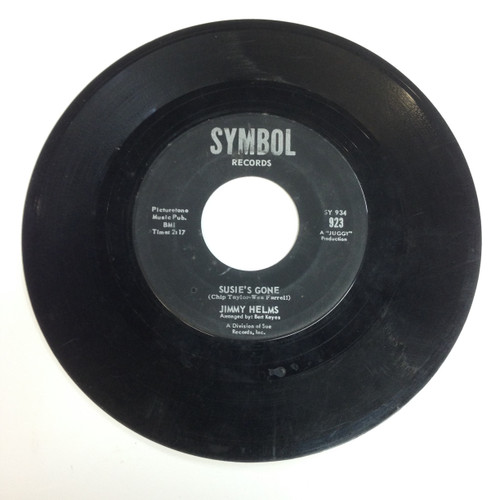 Jimmy Helms You're Mine You B/W Susie's Gone Symbol Northern Soul 45