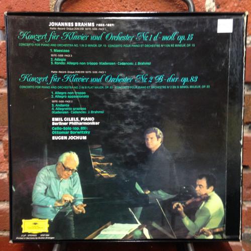 Brahms The Piano Concertos Gilels 2LP