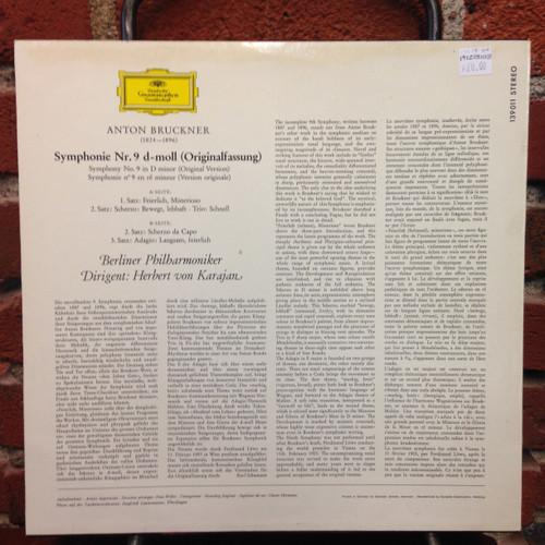 Bruckner Symphony No.9 LP