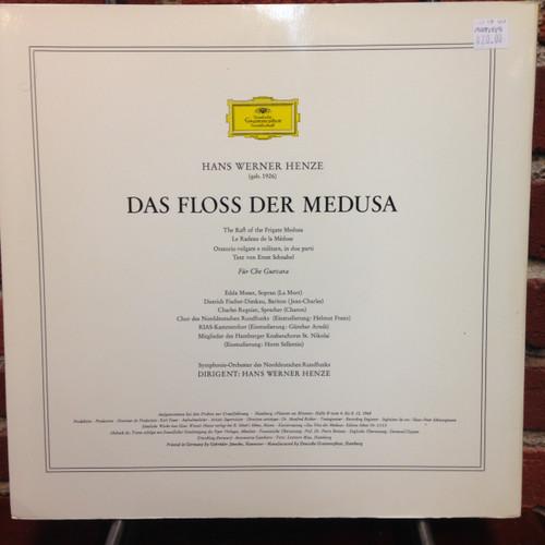 Hans Werner Henze  Oratorio The Raft of the Frigate Medusa   LP