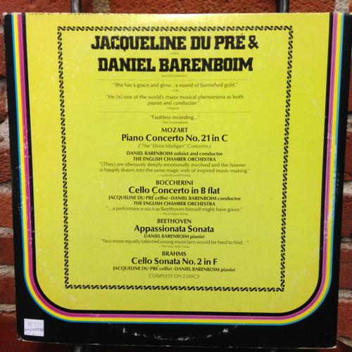 Jacqueline du Pre / Daniel Barenboim     Close-Up      2LP