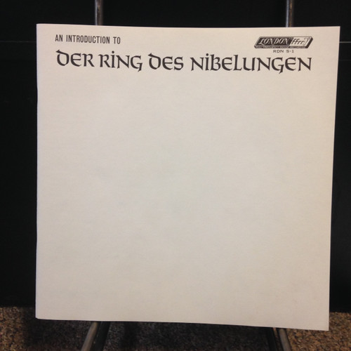 An Introduction to Der Ring Des Nibelungen 3 LP