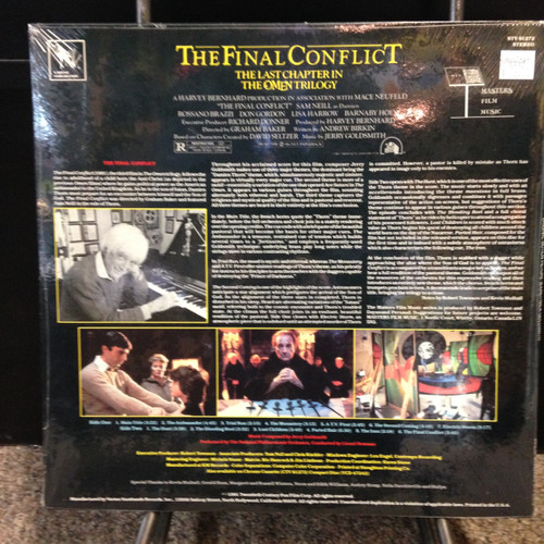 Omen III Final Conflict Soundtrack Sealed