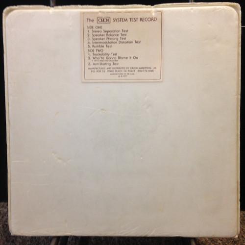 Orion System Test Record Nautilus LP