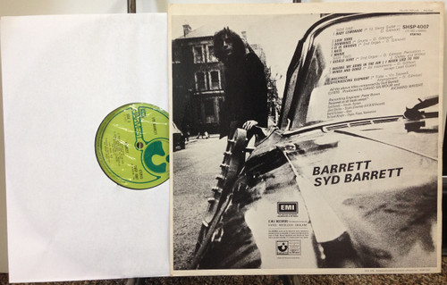 Syd Barrett Self Titled UK SHSP 4007 LP