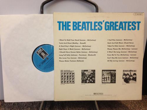 Beatles Greatest Odeon Stereo German LP