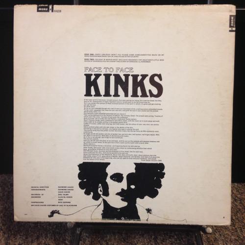 Kinks Face To Face Original Mono LP *