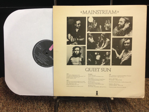 Quiet Sun Mainstream Original UK LP
