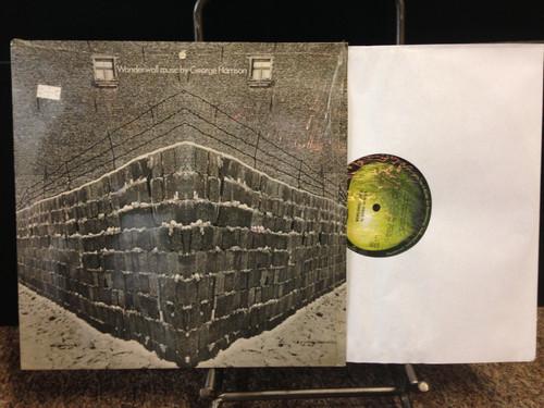George Harrison Wonderwall Music In Shrink Original UK LP