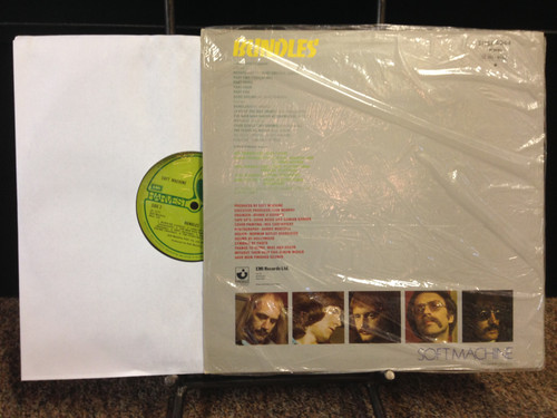 Soft Machine Bundles Original UK In Shrink SHSP 4044 LP