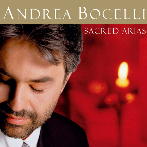 *USED* Andre Bocelli Sacred Arias CD